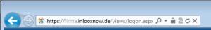 Browser mit Adresse