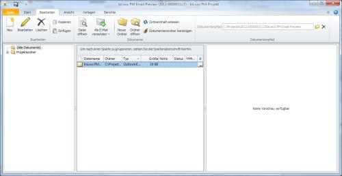 E-Mail-Vorschau