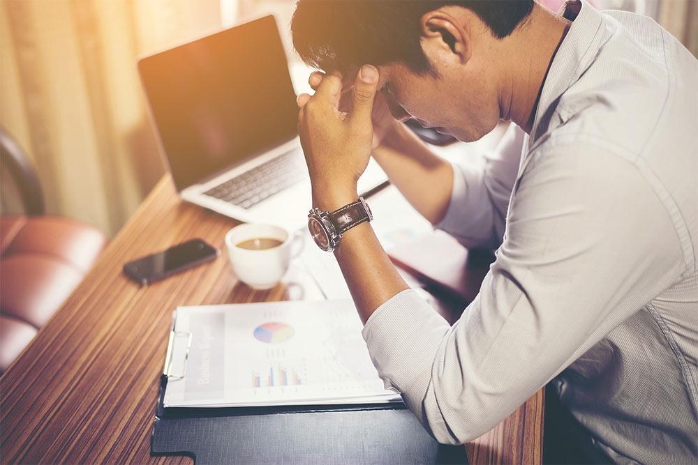 Burnout: Zu viel Arbeit macht krank!
