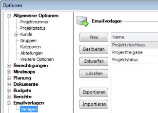 Emailvorlagen