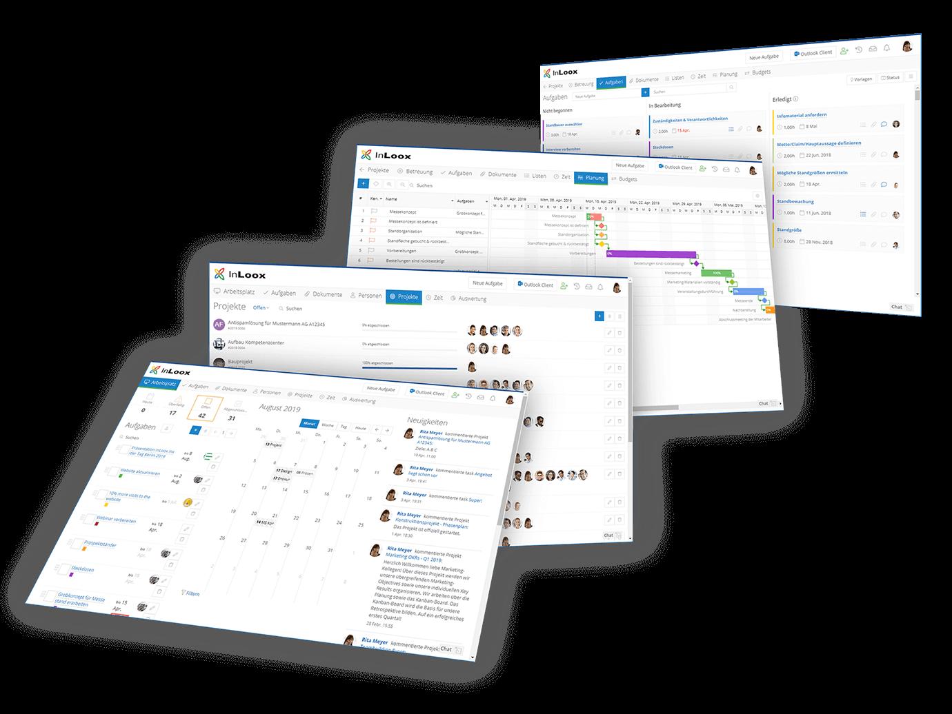 InLoox Web App: Die Online Projektplattform