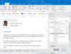 InLoox 10 for Outlook: InLoox seamlessly integrates into the Microsoft Outlook environment