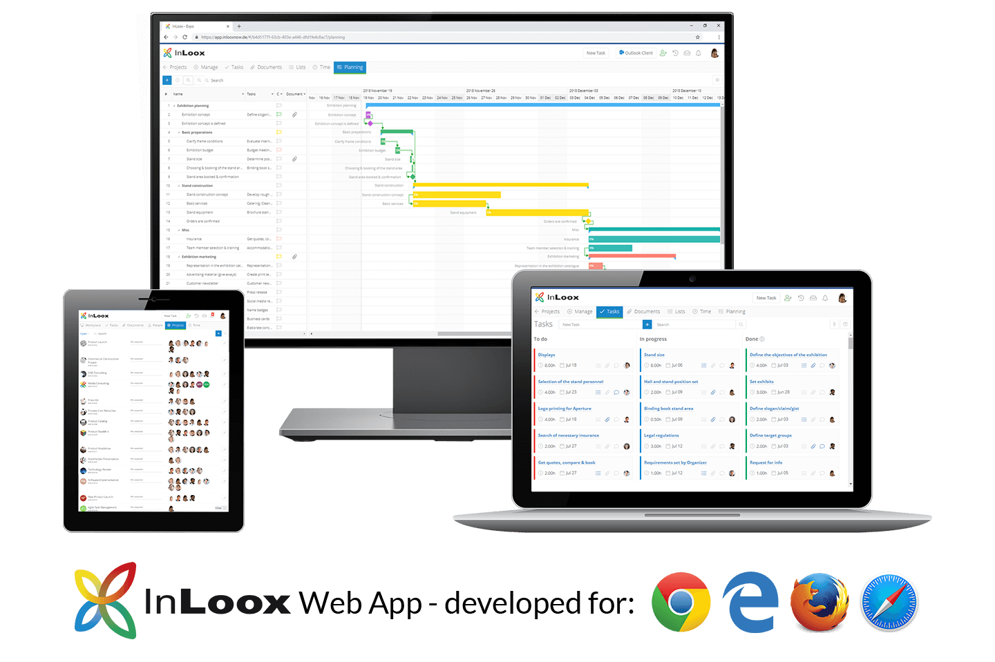 InLoox Web App - The Project Management Software on the Web