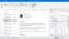 InLoox feature: Task management - Activate the task sidepanel and keep track of your tasks wherever you are in Outlook: E-Mails. Calendar, People, Tasks etc.