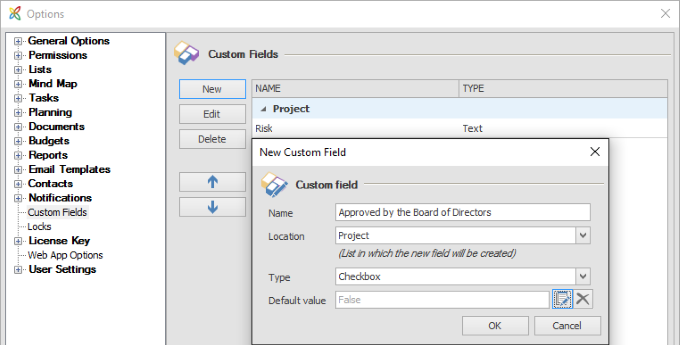 InLoox 9 Customizability