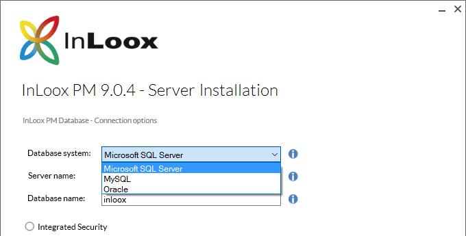 InLoox 9 Database Independence