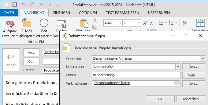 InLoox E-Mails