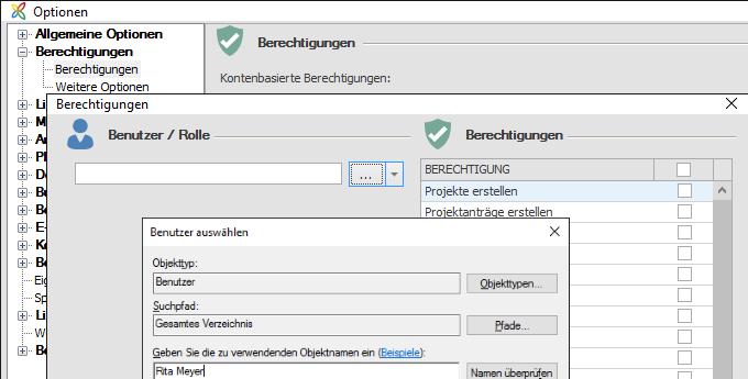 InLoox Integrierte Sicherheit