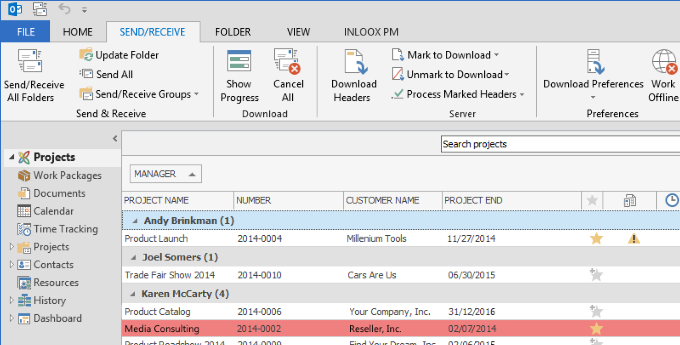 InLoox 9 Offline Capability With Microsoft SQL Server