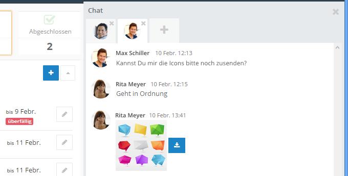 InLoox 9 Chat