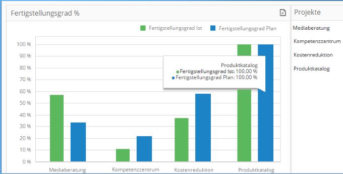 InLoox 9 Projektübergreifende Transparenz