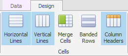 Grid layout_Ribbon