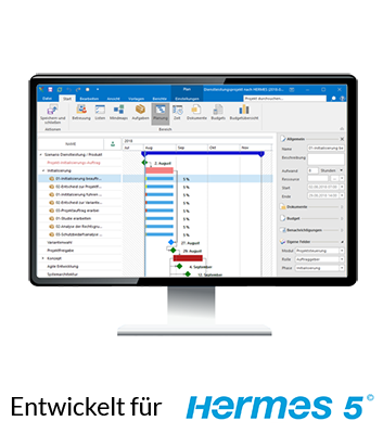 InLoox-Vorlagen entwickelt für HERMES 5®