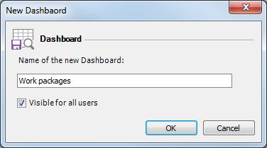 New dashboard
