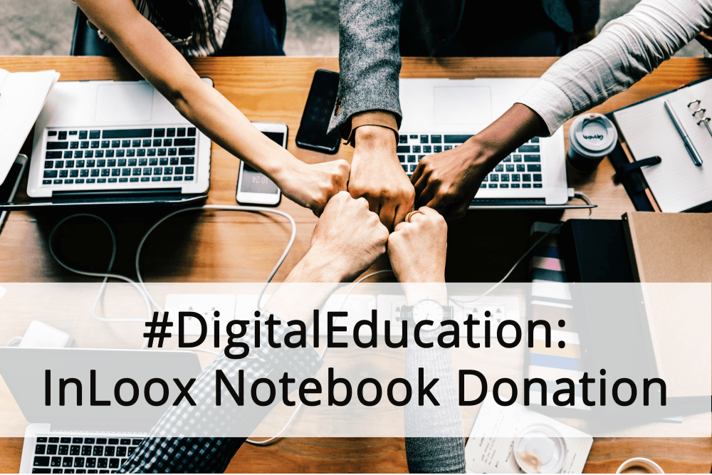 Notebook Donation Header
