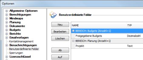 Optionen_benutzerdefinierten Feldern