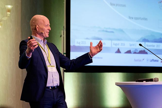 PM Welt 2018 Keynote-Speaker Volker Dökel, Senior Director Digitalization Lufthansa AG