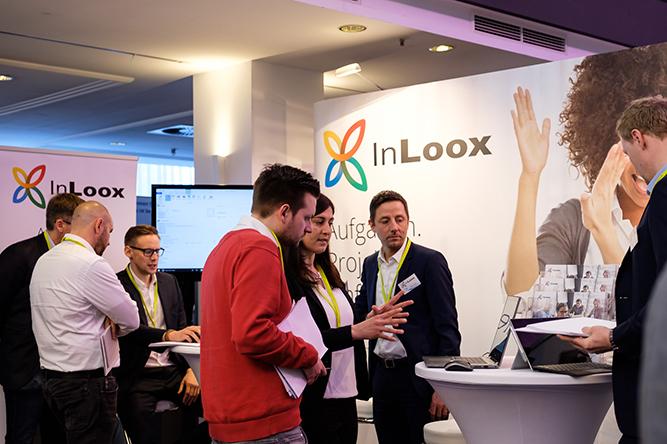 InLoox war einer der 4 Hauptsponsoren der PM Welt 2018