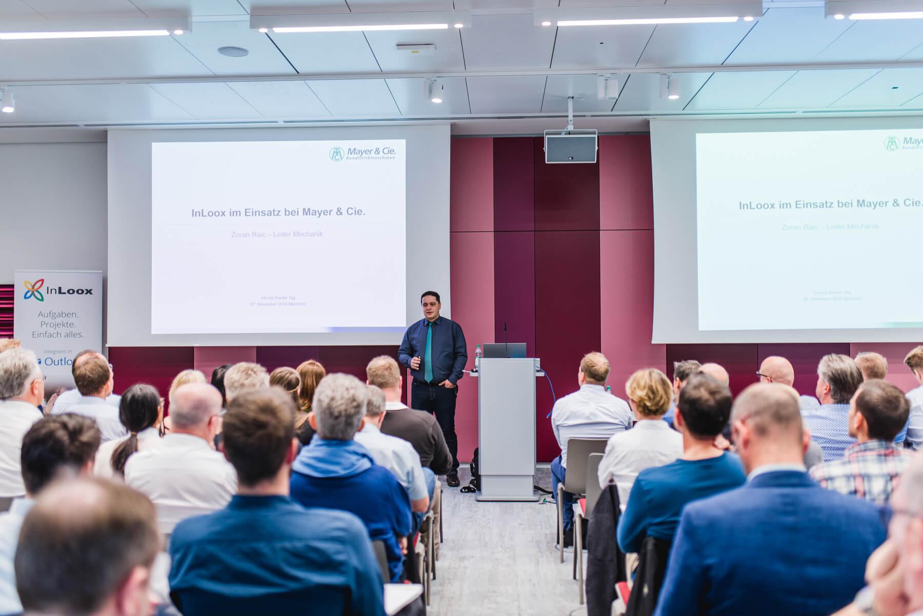 InLoox Insider Tag 2018 in München