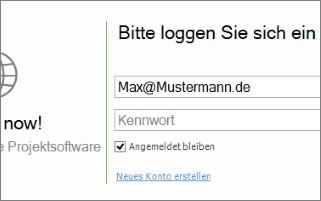 Verbinden Sie den Outlook-Client