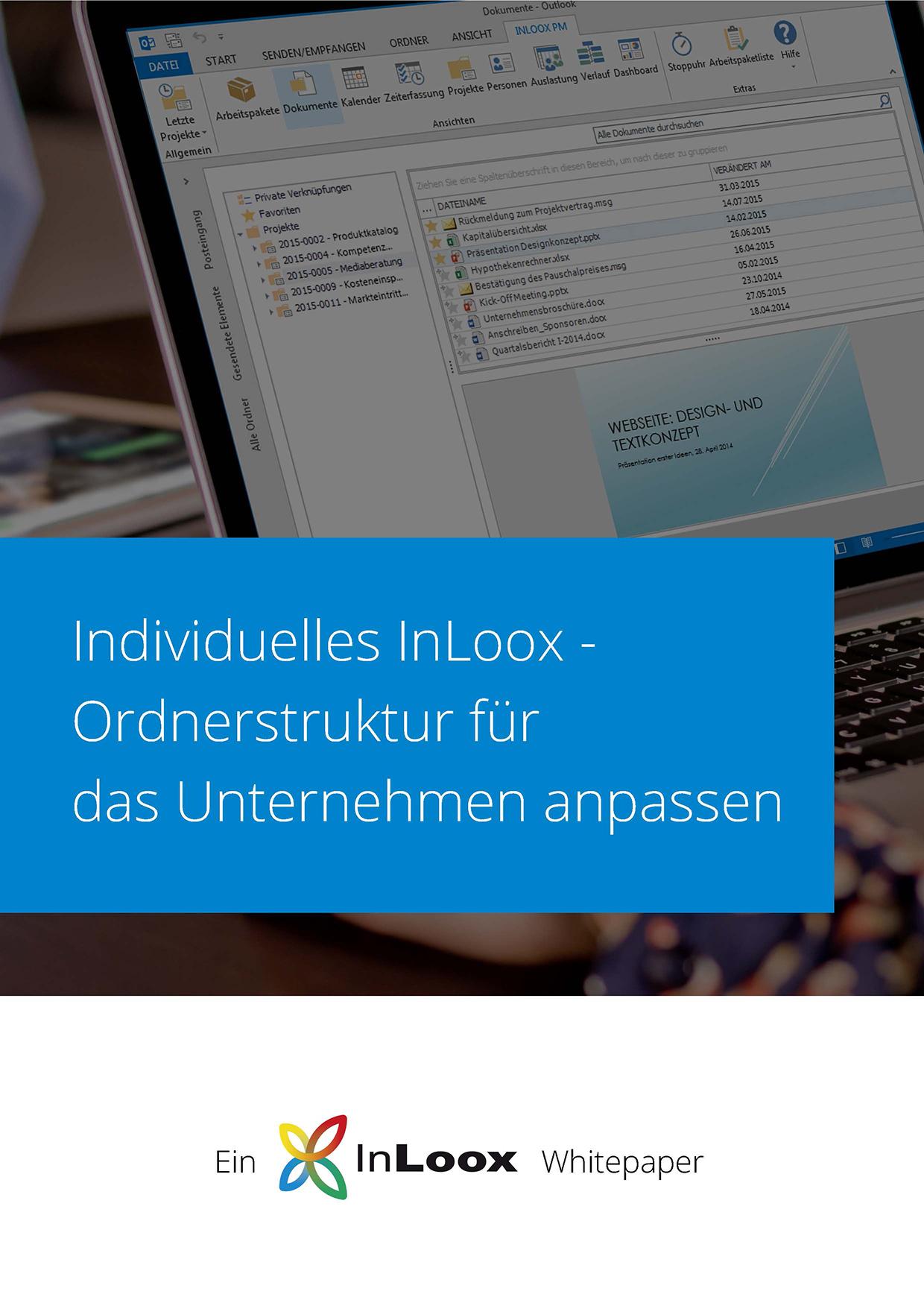 InLoox Whitepaper - Ordnerstruktur anpassen