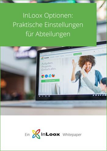 InLoox Whitepaper: InLoox Optionen - Praktische Einstellungen für Abteilungen