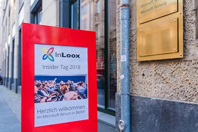 InLoox Insider Tag 2018 bei Microsoft Berlin
