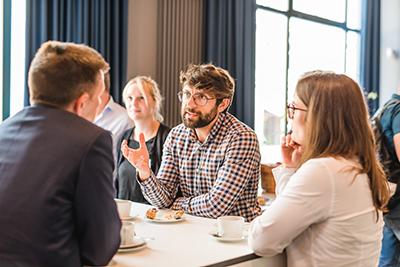 Diskussionen zum Einsatz von InLoox am InLoox Insider Tag 2018 in Berlin