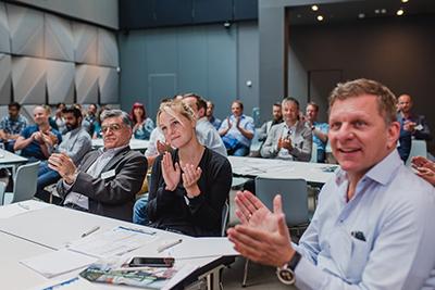 Die Teilnehmer des InLoox Insider Tages 2018 in Berlin waren begeistert