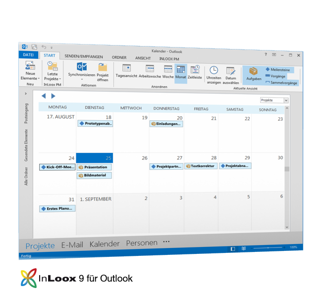 InLoox für Outlook