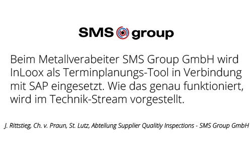 SMS Group GmbH - Abteilung Supplier Quality Inspections
