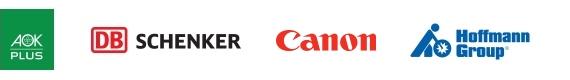 InLoox Referenzkunden: AOK plus, DB Schenker, Canon, Hoffmann Group