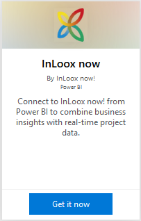 Get InLoox now! for Power BI