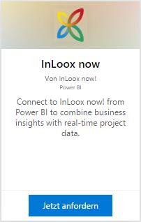 InLoox now! für Power BI anfordern