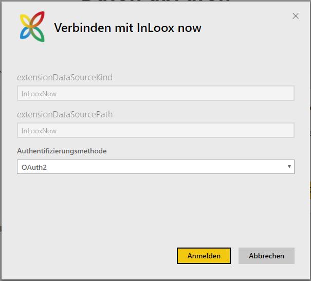 Mit InLoox now! verbinden