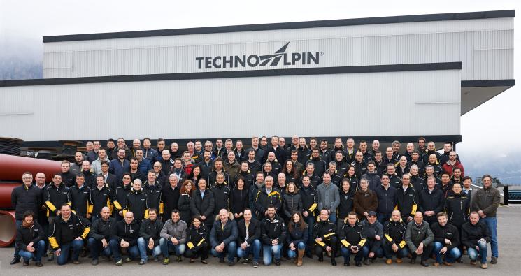 TechnoAlpin Gruppenfoto